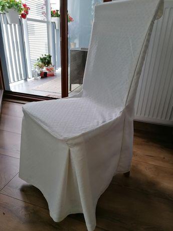 Dekoracyjne Pokrowce na krzesła ślub wesele  komunia