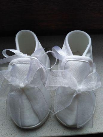 Buty niemowlęce do chrztu rozm.12
