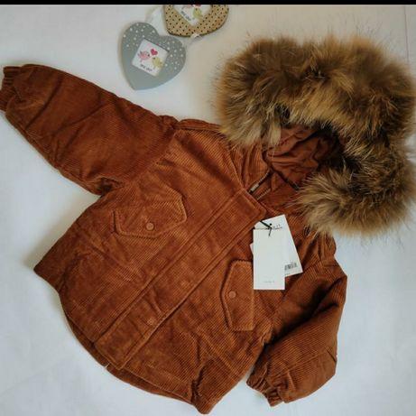 Зимняя куртка,пуховик. Унисекс.92 розмер +6