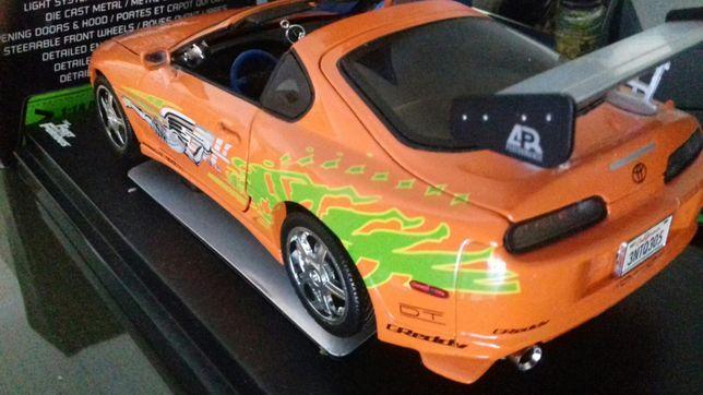 Toyota Supra 1/18 fast furious Paul Walker