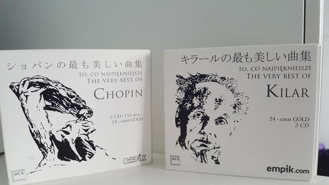 """płyty """"The Very Best Of Kilar"""" i """"The Very Best Of Chopin"""""""