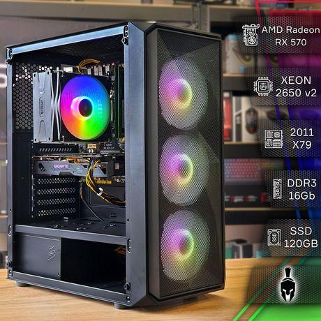 Сборка ПК: RX 570 4Gb, Intel Xeon E5 2650v2, DDR3 16Gb, SSD 120Gb +HDD