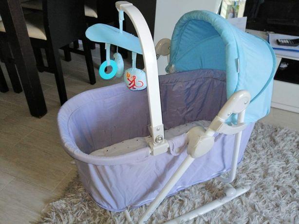 Leżaczek bujaczek kinderkraft krzesełko unimo 5w1 kołyska łóżeczko