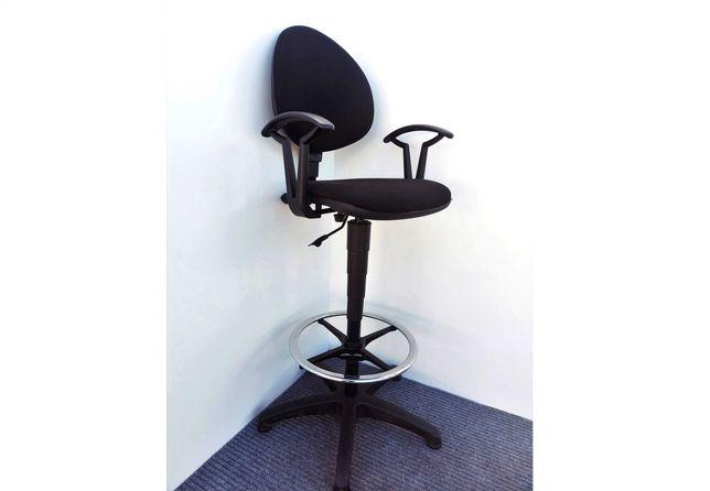 Krzesło fotel robocze warsztatowe laboratoryjne