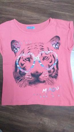 Cool club koszulka z krótkim rękawem w rozmiarze 134