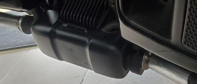 Защита нижняя водяного насоса и реле зарядки Harley-Davidson 09-20