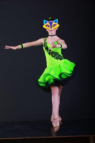 Платье танцевальное латина