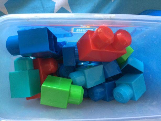 Mega Blocks конструктор блоки лего кирпичи детали для детей от 1 года