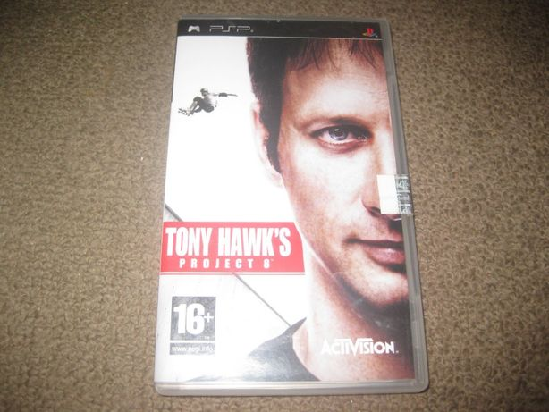 "Jogo PSP ""Tony Hank`s- Project 8"" Excelente estado!"