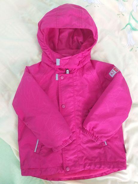 Куртка reima 92 для девочки
