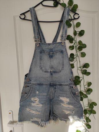 Ogrodniczki jeansowe