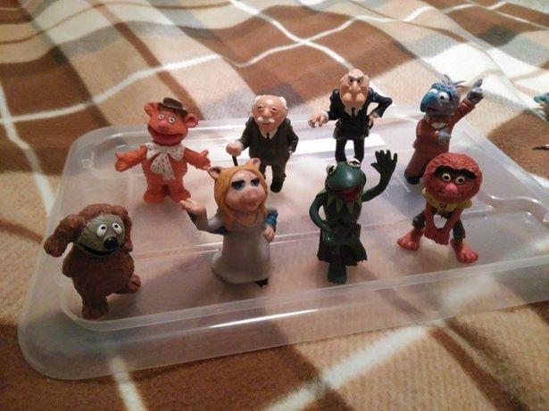 Bonecos PVC coleção Marretas the muppets vintage