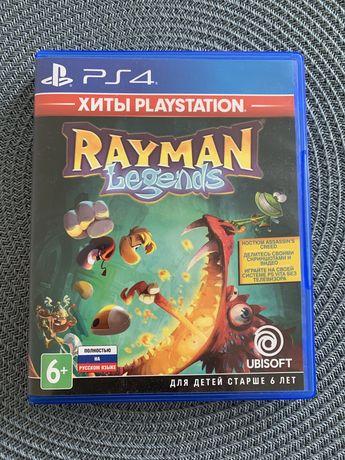 Rayman Legends (ps4) диск русская версия