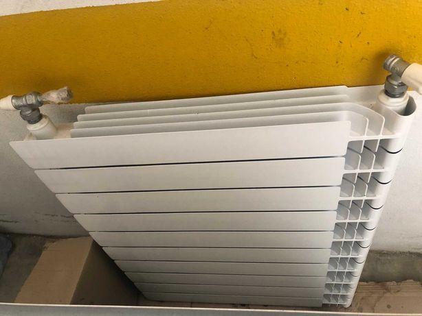 Radiadores/aquecedores de parede para aquecimento central