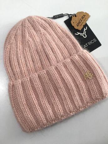Модные молодежные шапки ангора Atrics большой выбор расцветок есть опт