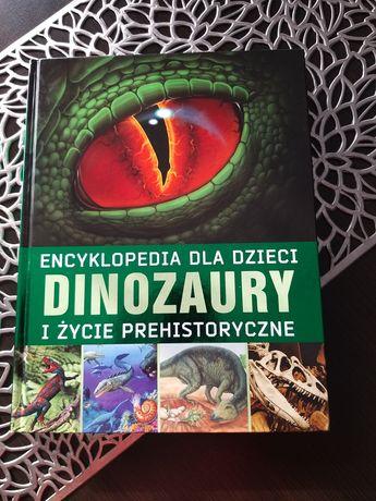 Ksiazka encyklopedia dinozaurow nowa