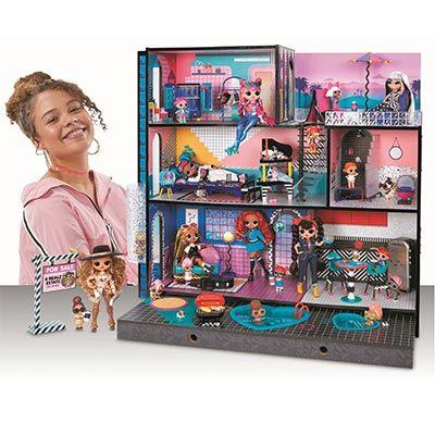 Дом лол особняк домик лол L.O.L. Surprise Mga 555001 LOL MGA 570202