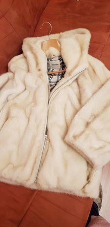 Норковый бомбер куртка полушубок Италия