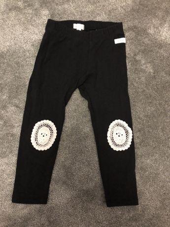 Legginsy spodnie newbie 98