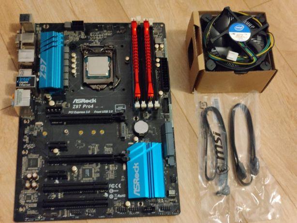 Proces Intel i5 4690K + Płyta główna + Ram DDR 3 16GB