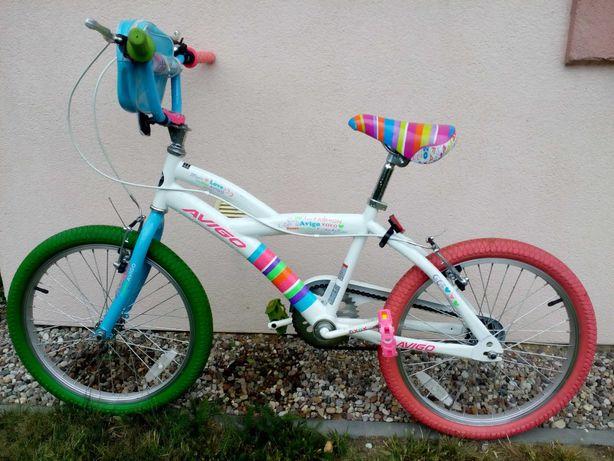 Bardzo ładny rower dziewczęcy