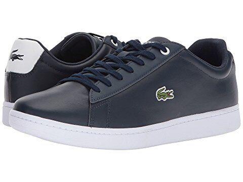 Кожаные мужские кроссовки Lacoste