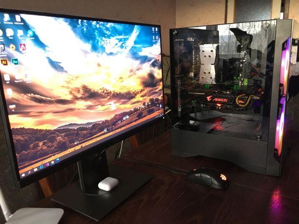 Мощный игровой компьютер, Aorus GTX 1080, SSD 500Gb