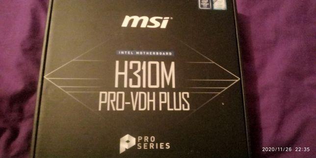 Материнська плата H310M PRO-VDH PLUS