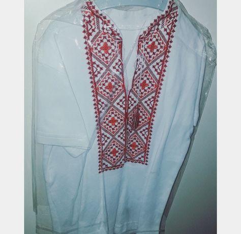 Новая вышиванка,рубашка украинская на 2-3 годика,сорочка українська