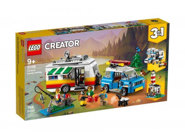 Nowe LEGO 31108 Wakacyjny kemping (dowóz gratis)