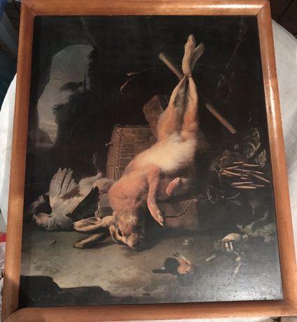 Jan weenix martwa natura z zającem