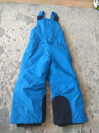 Spodnie narciarskie zimowe na sanki 86/92