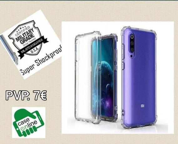 Capa Anti-xock Semi Rígida Xiaomi Mi Note 10 Lite /Mi 10T Lite/Poco M3