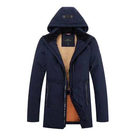 Продам, зимнюю мужская куртку парку для мужчин типа «Аляска», бренд