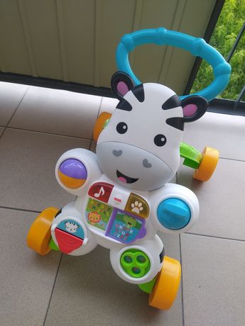 Fisher Price zebra pchacz