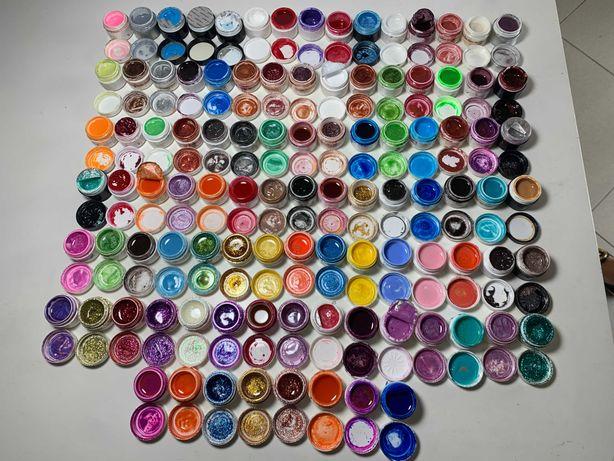 Kit cores Gel (Unhas Gel, Verniz Gel, Acrilico)