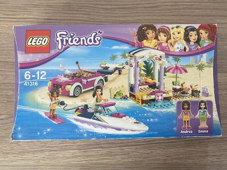 Лего френдс lego friends скоростной катер лодка лего