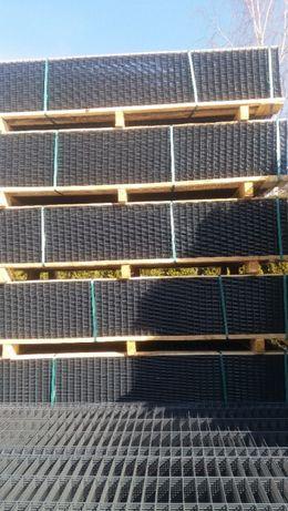 Panele Ogrodzeniowe 173cm Fi 4 grafit Ral 7016- Montaż Ogrodzeń
