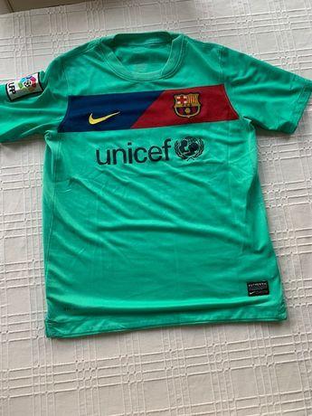 Wyjazdowa koszulka Nike FC Barcelona sezon 2010/11