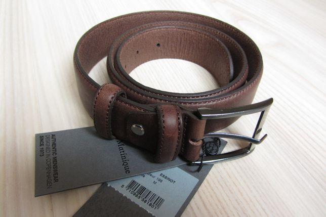 Мужской кожаный ремень Matinique (Дания) на талию 82-92см.
