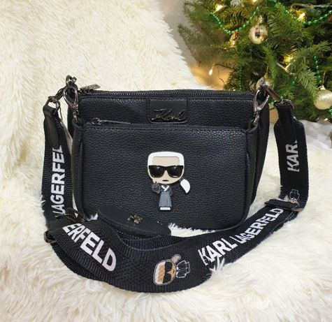 Женская сумка Karl Lagerfeld карл лагерфельд 3в1 стильная новая