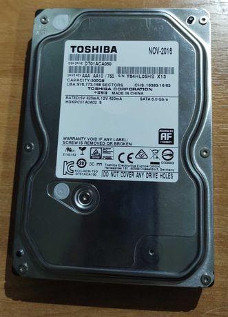 "3,5"" HDD Toshiba 500gb, 7200 RPM, SATA III"