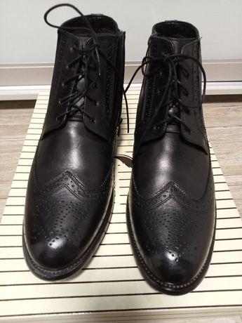 Мужские зимние ботинки сапоги Аlta Brezza