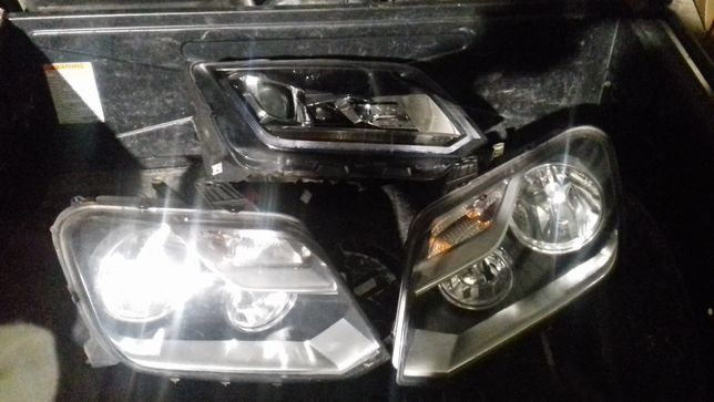VW Amarok lampa prawa lewa przód lift lampy