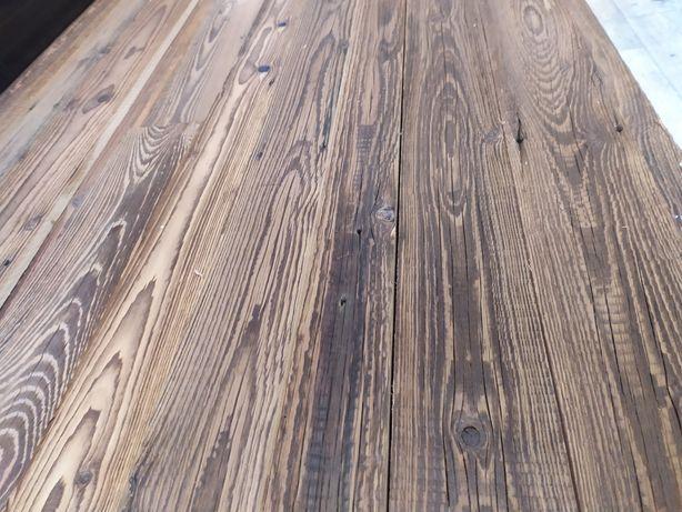 Stare drewno deski belki ze stodoły na ścianę rustykalne meble wysyłka