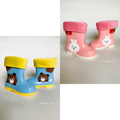 Резиновые сапоги от BBT kids, резинові чоботи