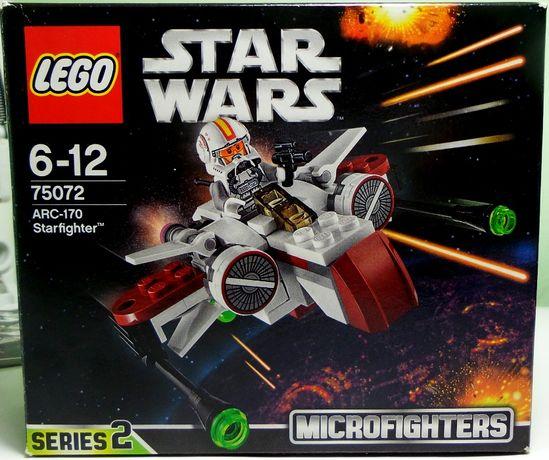 Конструктор Лего LEGO Star Wars 75072 Старфайтер ARC-170 Оригинал