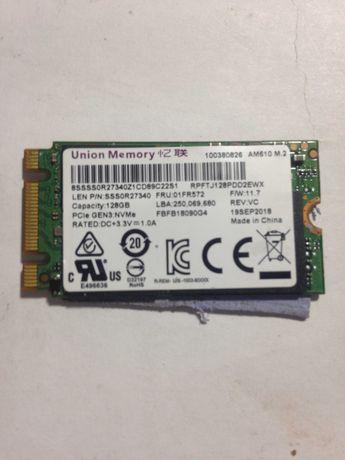 SSD накопитель union memory 128 гб NVMe PCIe m.2