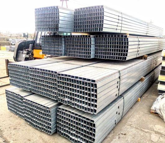 60 x 40 Profile stalowe ocynkowane słupy słupki użytkowy rura łata