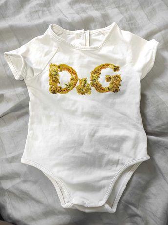 Боди Dolce & Gabbana 3-6 m. Унисекс. Идеал!